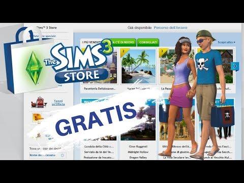 The Sims 3 | TUTTI I CONTENUTI DELLO STORE GRATIS!!!! - Tutorial