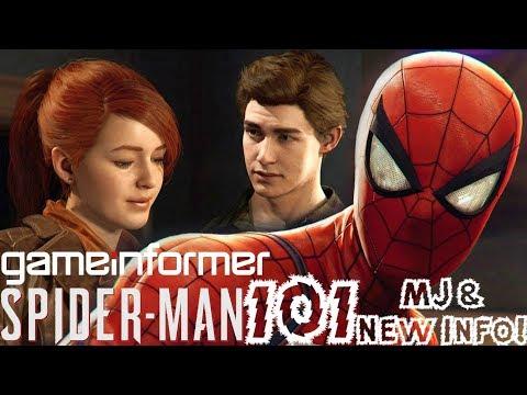 Spider-Man PS4: 101 - Mary Jane, Combat, & More!!! Major Info Breakdown/Update!!!