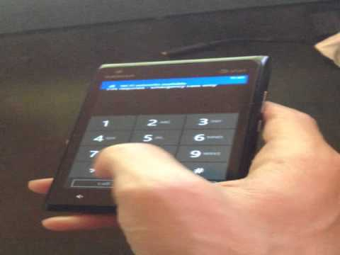 How to Unlock Nokia Lumia 900 from AT&T by Unlock Code, from CellphoneUnlock.net