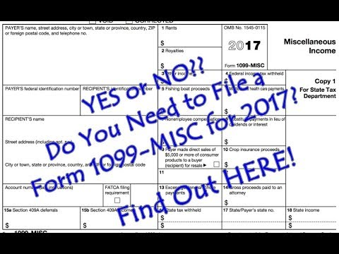 Didn't get your 1099 for 2017? Here's What to do!