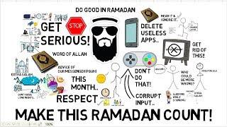ADVICE FOR MEN THIS RAMADAN - Nouman Ali Khan Animated