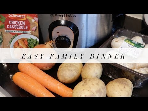 COOK WITH ME | EASY FAMILY DINNER | Claire Skellon