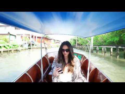 Damneon Saduak Floating market Thailand