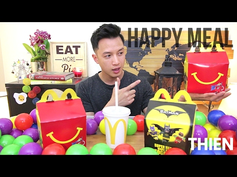 [mukbang with THIEN]: McDonald's Happy Meal (ADULTS ONLY)