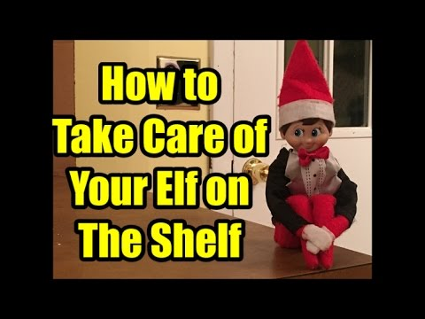 How to Take Care of Your Elf on The Shelf