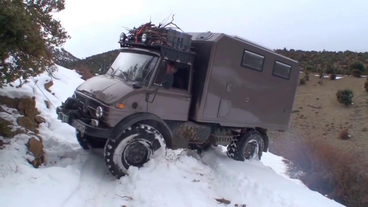 Expeditionsmobil Unimog 416 durch Marokko I 4x4 Segler # 1