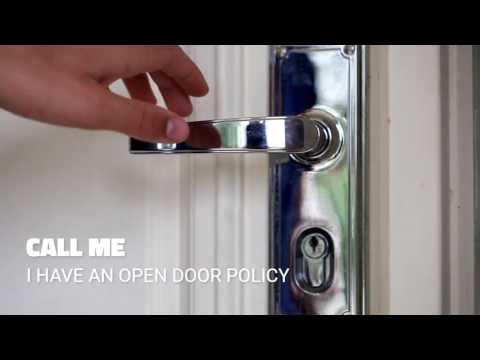 Open Door Policy | White Rock Real Estate