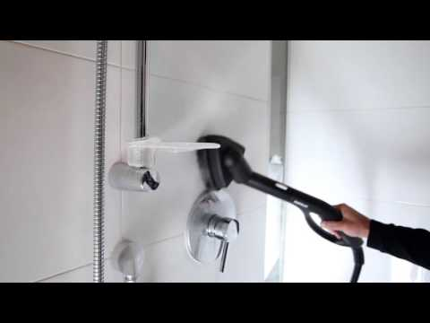 How to Clean Shower Ceramic Tiles with a Steam Cleaner