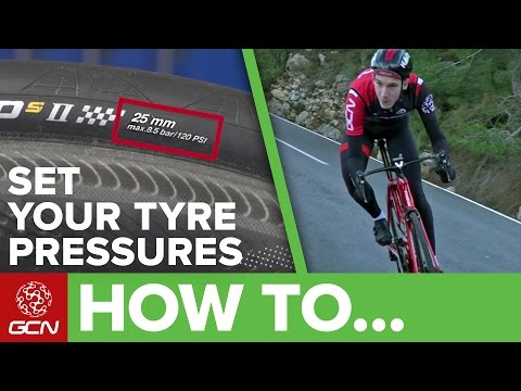Bike Tyre Pressure Explained | Road Bike Maintenance