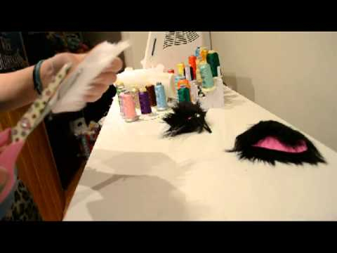How to Make No-Sew Hair Clip Cat Ears
