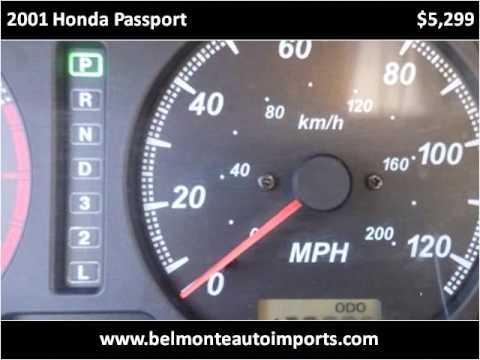 2001 Honda Passport Used Cars Raleigh NC