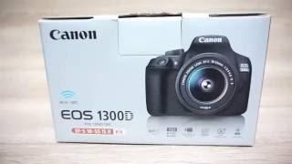 CANON EOS 1300d - review kamera canon eos 1300d & contoh hasil canon eos 1300d