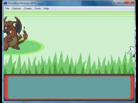 How to get Charizard in pokemon emerald (code)