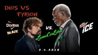 Morgan Freeman vs Peter Dinklage (Doritos vs Mountain Dew)