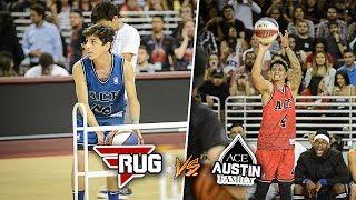3 POINT CONTEST VS AUSTIN MCBROOM!! (ACE FAMILY CHARITY BASKETBALL EVENT)