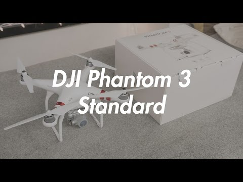 DJI Phantom 3 Standard - Unboxing and First Impressions! [Best Beginner Drone!]