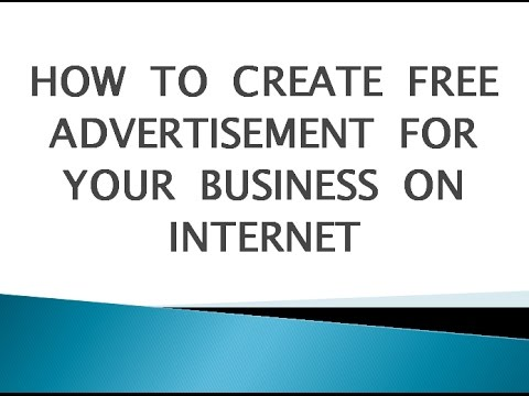 how to create free advertisement on internet via dealsatcity | how to grow business on internet