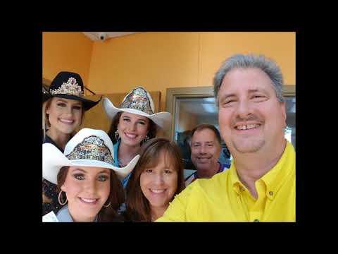 Rodeo Queens Interview with Jim, Lisa & John, the Kicker 102.5 Wakeup Crew