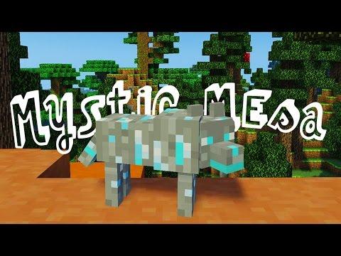 RARE DIAMOND ORE WOLF! - MYSTIC MESA MODDED MINECRAFT