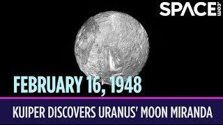 OTD in Space – February 16: Gerard Kuiper Discovers Uranus