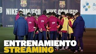 DIRECTO - Entrenamiento del FC Barcelona previo al partido con el Las Palmas