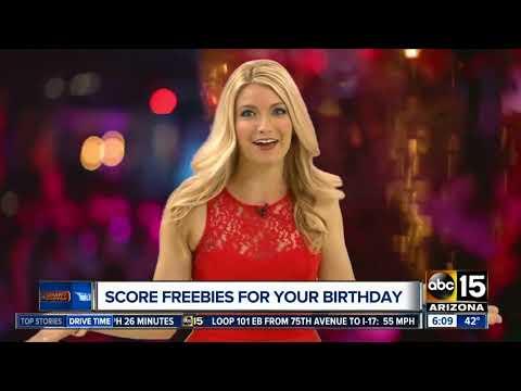 Celebrating a birthday soon? Get some freebies!