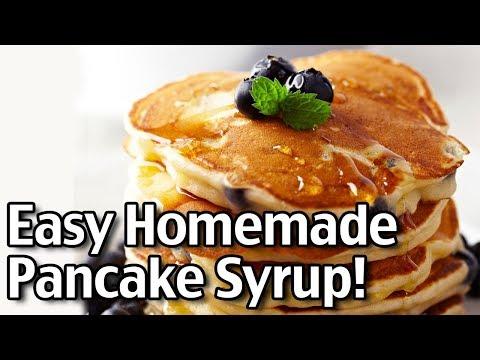 Simple Homemade Pancake Syrup Recipes!