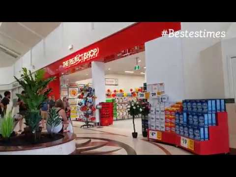 Central Arcade Innisfail - Reject Shop May 2018