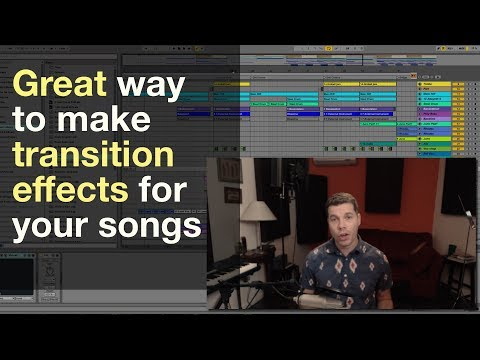 Ableton Tutorial: Simple way to make Transition Fx for any song