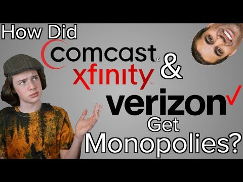 How did Internet and Cable Companies Get Regional Monopolies in the United States?