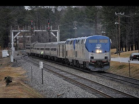Riding Amtrak's Crescent From Charlotte to New York City