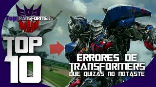 Top 10 Errores de Transformers - TopTransformers