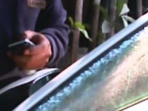 how to change the front glass of a car