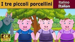 I tre piccoli porcellini - favole per bambini - storie per bambini - 4K UHD - Italian Fairy Tales