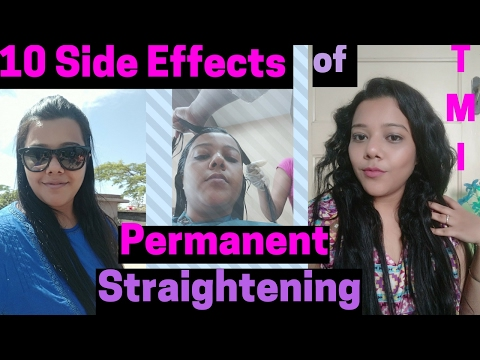 10 Hair Smoothening Side Effects/ Hair Straightening Side Effects | Process, Pros/cons