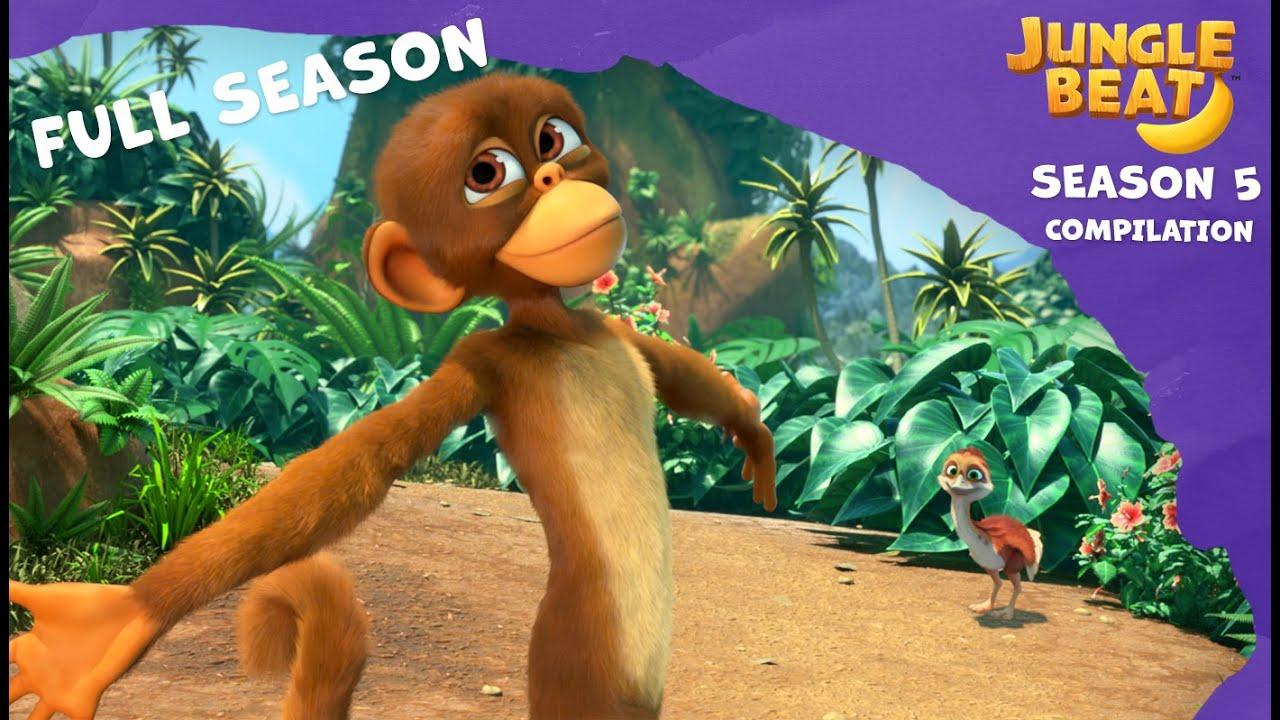 Jungle Beat Season 5 Full Compilation