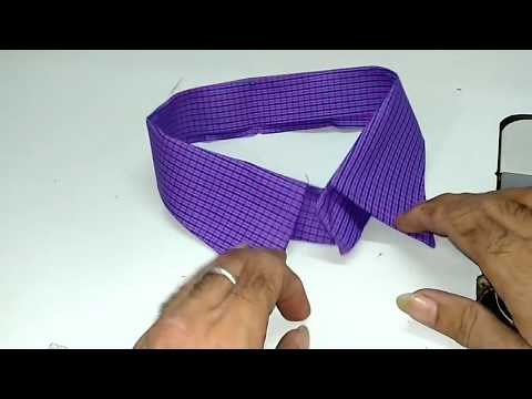 How to make shirt collar step by step