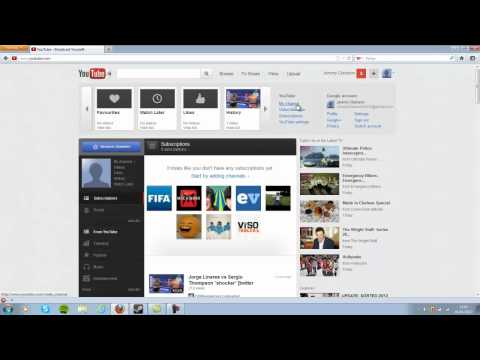 How to change your username on the new youtube **2012 NEW VOICE TUTORIAL**