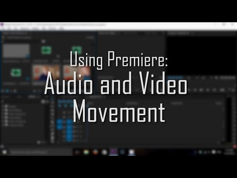 Premiere Pro: Separate Audio and Video