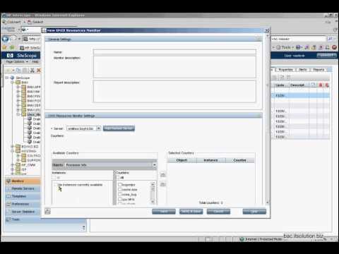 HP SiS UNIX Processor Monitor Info