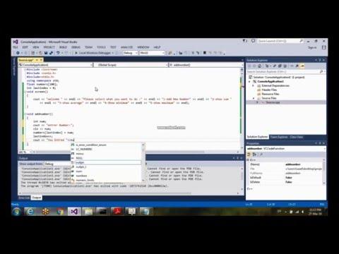 C++ coding a program (calculating: sum ,average.min,max)