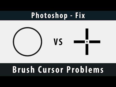 [Photoshop] - Brush Cursor Problems [Fix]