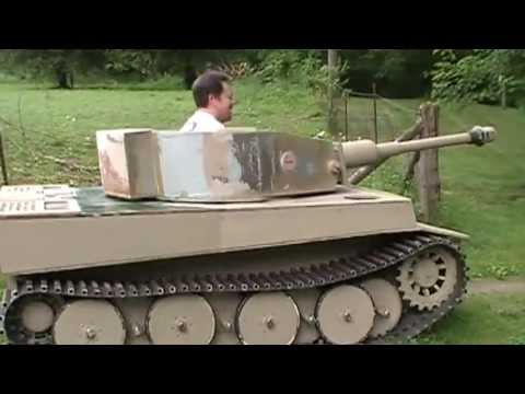Building a 2/5 scale tiger tank