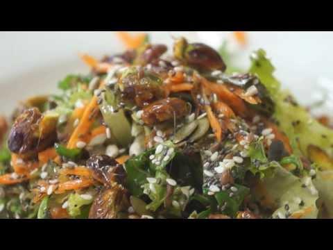 Super Seeds Salad - Vegan Recipe