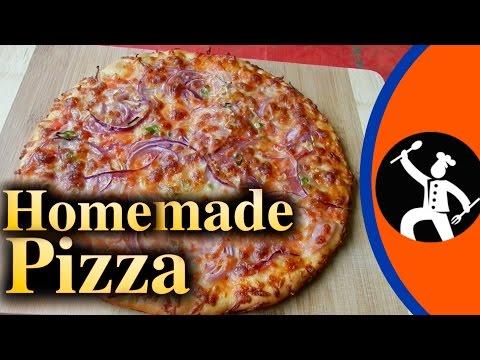 Pizza recipe in Nepali Language   Homemade Pizza   Yummy Food World 🍴 20