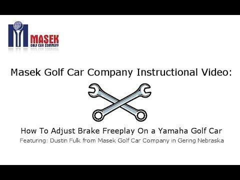 How to Adjust Brake Freeplay on a Yamaha Golf Car