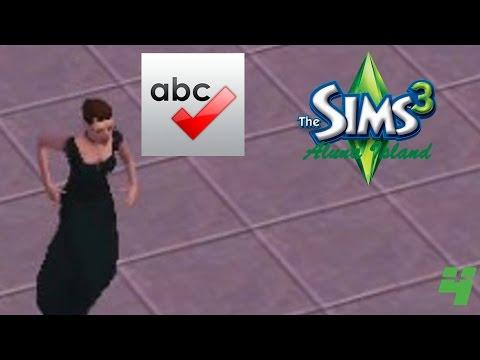 PROMOTION: SPELL CHECKER CHECKER   The Sims 3 Aluna Island Part 4