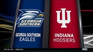 Georgia Southern at Indiana - Football Highlights
