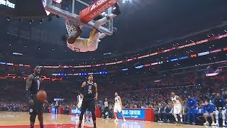 Draymond Gets Saved By Refs After Getting Ejected For Hanging On The Rim! Warriors vs Clippers