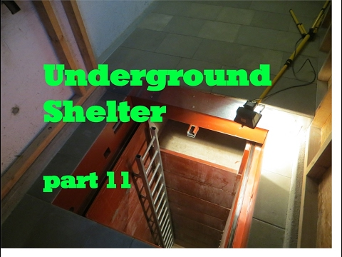 UNDERGROUND shelter, How to build an underground Bunker!!! #11